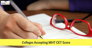 Colleges Accepting MHT CET 2019 Score for B.Tech Admissions