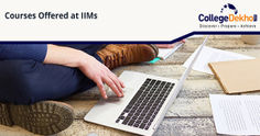 List of Courses Offered at the IIMs
