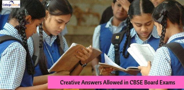'Creative Answers' to be Considered for Evaluation in CBSE Board Exams 2019