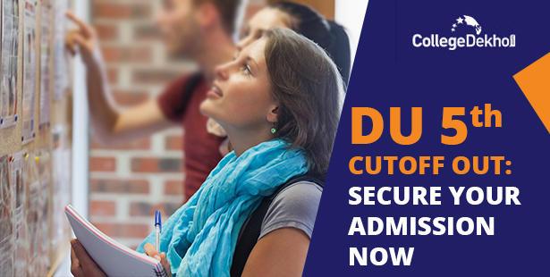 DU Fifth Cutoff List 2021