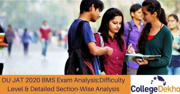 DU JAT 2020 BMS Exam Analysis (Released): Check Difficulty Level & Detailed Section-Wise Analysis