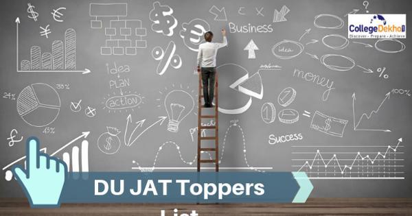 List of DU JAT 2020 Toppers, Percentile Scores