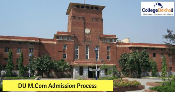 DU M.Com Admission 2020