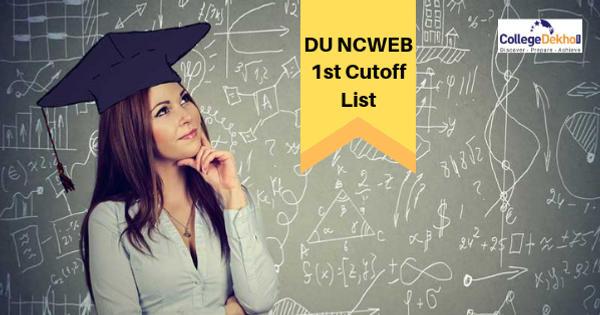 DU NCWEB Admission 2020