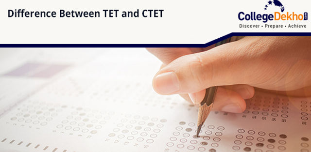Difference between CTET & TET Exam - Check How to Apply, Exam Pattern & Syllabus
