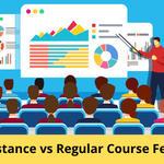 Distance vs Regular Course Fees