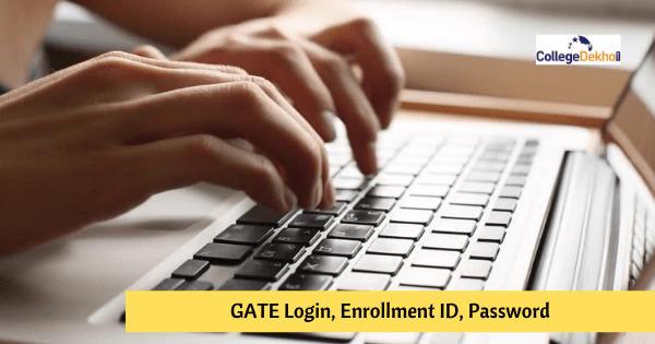 GATE Login - GOAPS, Forgot Enrollment ID, Password