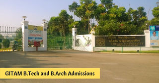 GITAM B.Tech and B.Arch Admissions 2019 – Dates, Eligibility, Application Form, Admission Procedure