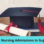 Gujarat M.Sc Nursing Admissions 2021