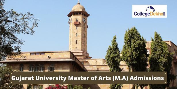 Gujarat University M.A Admission
