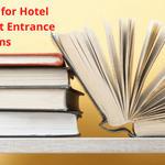 Best Books for Hotel Management Entrance Exams