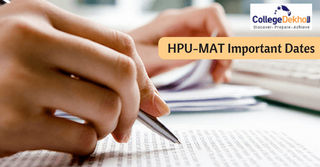 HPU-MAT 2018 Important Dates: Admit Card Available for Download Until 25th May