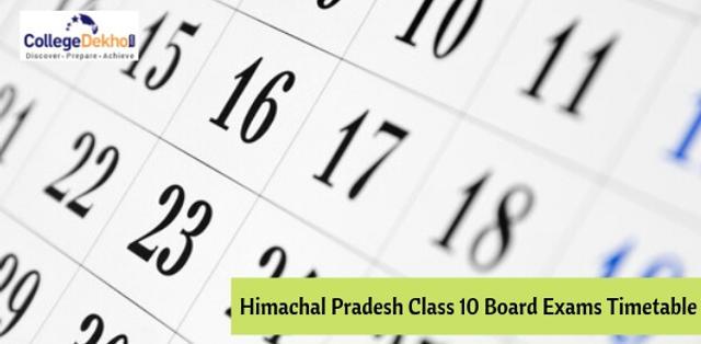 Telangana SSC (Class 10) Exam Date Sheet 2019, Time Table