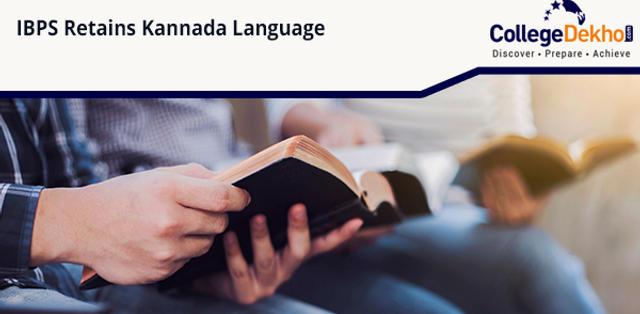 IBPS Retains Kannada Language in Banking Exams