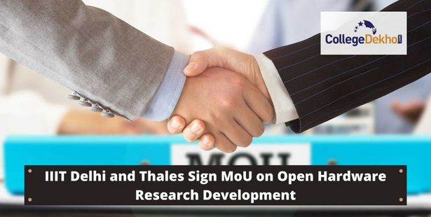 IIT Delhi and Thales Sign MoU