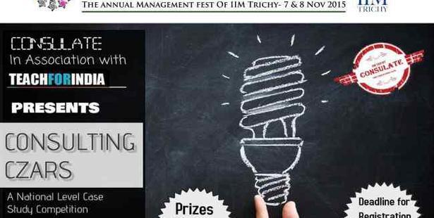 Event Updates-  IIM Trichy to Organize 'Arcturus'-2015 on 7-8th Nov