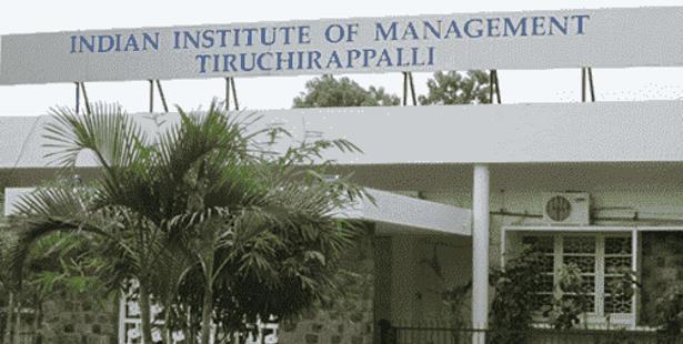 Admission Notice-    IIM, Tiruchirappalli Invites Application for Fellow Program in Management- 2016