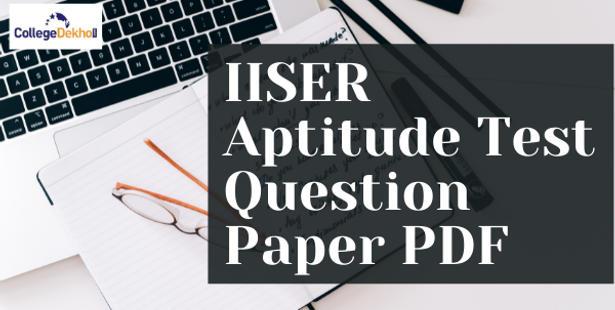 IISER Aptitude Test Question Paper
