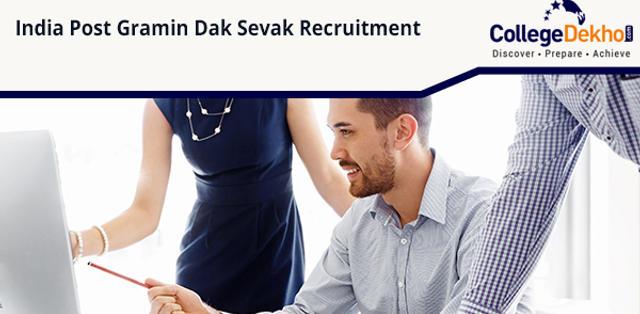 India Post Gramin Dak Sevak Recruitment 2019: Andhra Pradesh, Telangana, Chhattisgarh