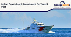 Indian Coast Guard Recruitment 2020 for Yantrik Post: Check Eligibility and Salary