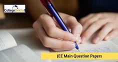 JEE Main Question Paper April Exam (2020, 2019, 2018) - Download Sample Papers Here