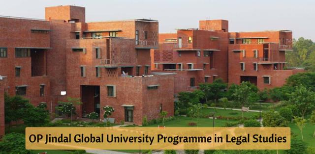 OP Jindal Global University Introduces BA (Hons.) Programme in Law