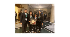 Jamia Milia Islamia Wins the Best Memorial Award in KK Luthra International Criminal Law Moot Court