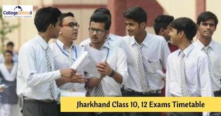 Jharkhand Board (JAC) Class 10, 12 Exams 2019 Date Sheet, Timetable