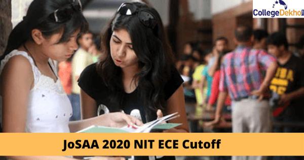 JoSAA 2020 round 1 NIT ECE cutoff