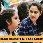JoSAA 2020 round 1 NIT CSE cutoff
