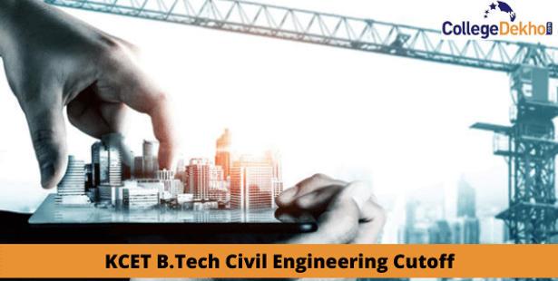 KCET B.Tech Civil Engineering cutoff
