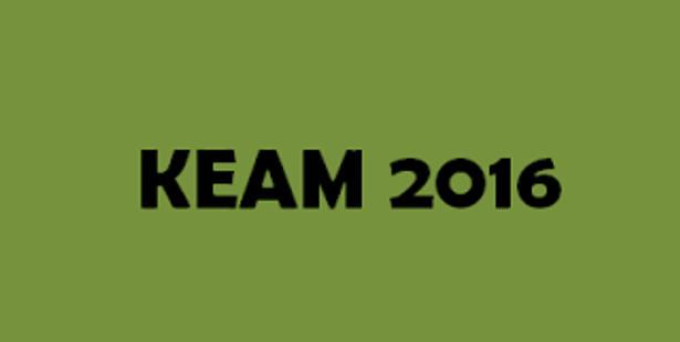 Admission Notice –    KEAM 2016 Entrance Exam Date Announced