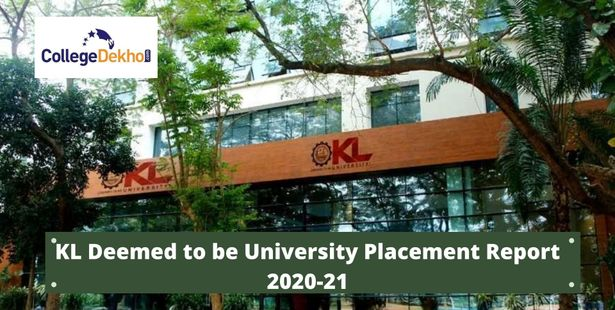 KL Deemed to be University Placement Report 2020-21