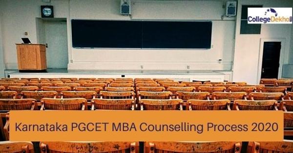 Karnataka PGCET MBA Counselling Process