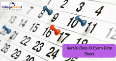 Kerala SSLC Class 10 Exam 2020 Date Sheet and Hall Ticket Released, Check Here