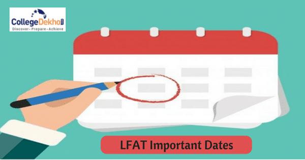 LFAT 2020 Important Dates: Exam Held on September 27