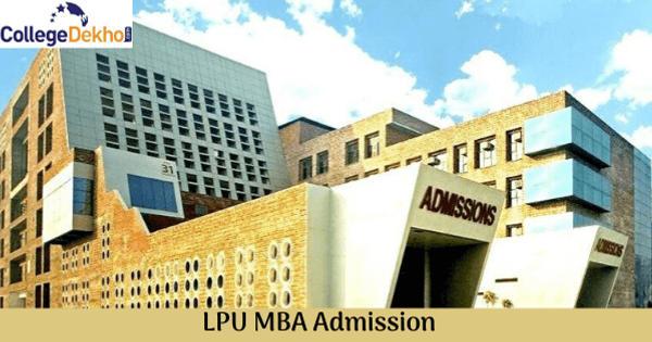 LPU MBA Admission 2020
