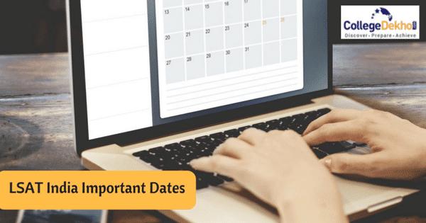 LSAT India Important Dates