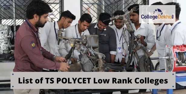 List of Low-Ranked TS POLYCET 2021 Colleges and Specializations
