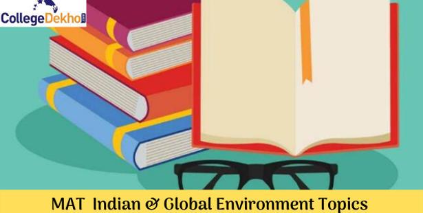 Important Topics of MAT 2021 Indian & Global Environment
