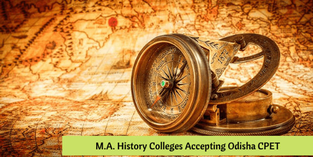 Odisha CPET 2021 M.A History Colleges and Seat Matrix
