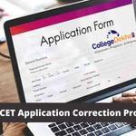 MHT CET application form correction process