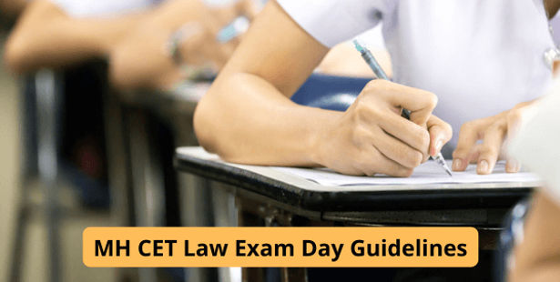 MH CET Law Exam Day Guidelines
