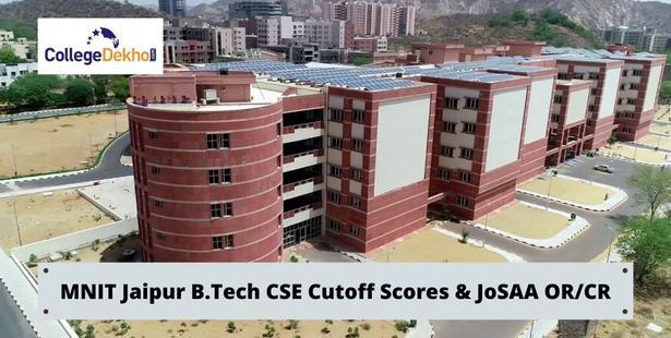 MNIT Jaipur JoSAA B.Tech CSE Cutoff Scores (JoSAA OR & CR)