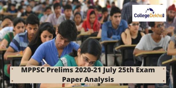 MPPSC Prelims Exam 2020-21 Paper Analysis