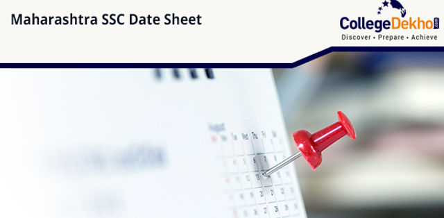 Maharashtra Board 10th (SSC) Exam Date Sheet 2020 (Announced), Timetable