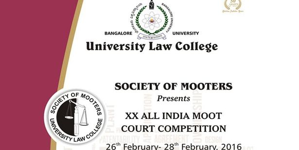 20th All India Moot Court Competition being Organized