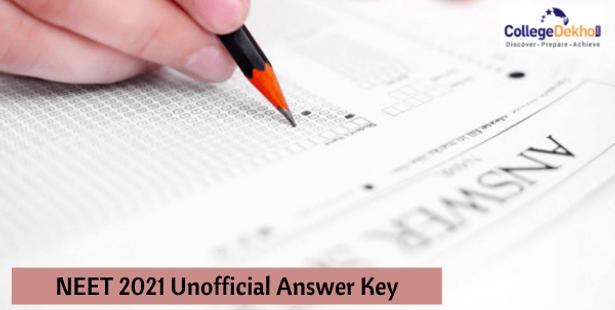 NEET 2021 Unofficial Answer Key