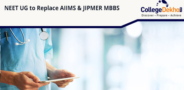 NEET UG for AIIMS and JIPMER MBBS Admissions 2020