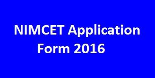 A Look into NIMCET 2016 Exam Dates and Syllabus